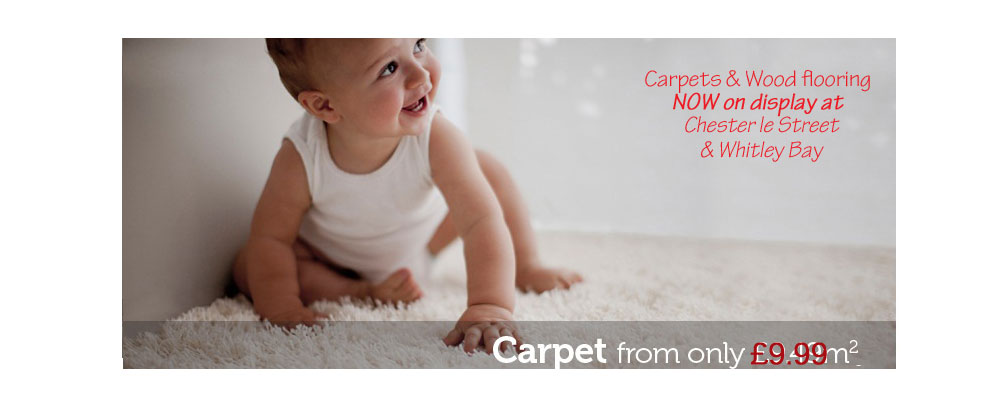 Carpets at low prices, from £9.99 m2